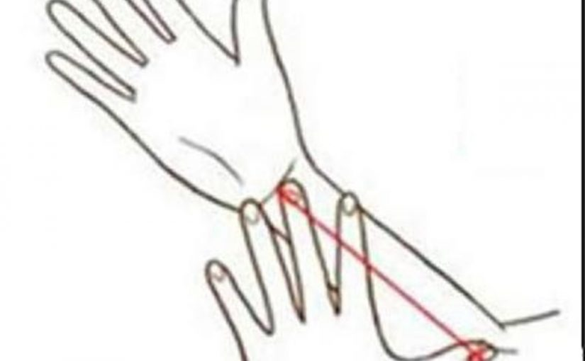 Интересный тест: измерь свою руку!