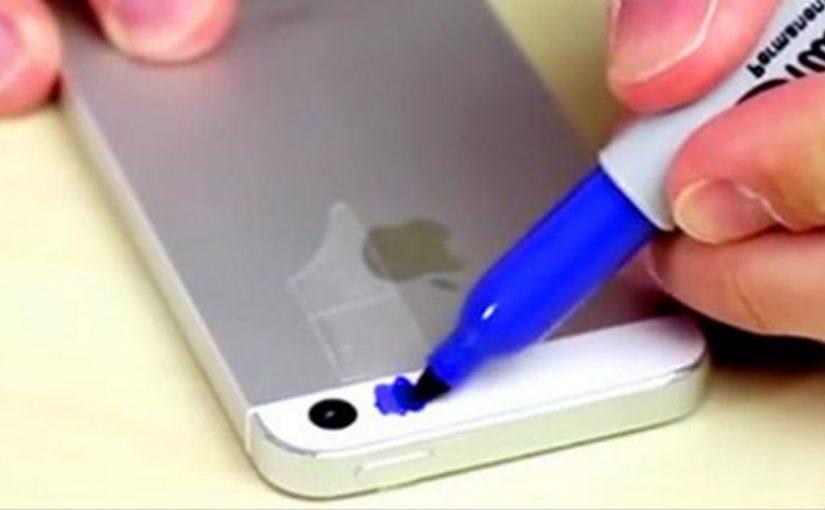 Я замазал вспышку на телефоне синим маркером. И увидел чистый восторг!