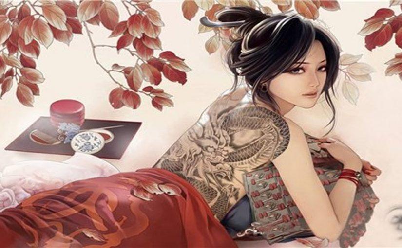 Вам кажется это девушка с татуировкой? Но посмотрите внимательнее!