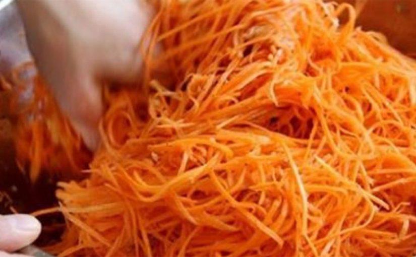 Как я давно искала именно этот рецепт моркови по-корейски. Самый вкусный и самый лучший